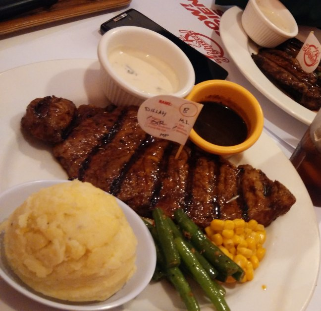 Steak holycow