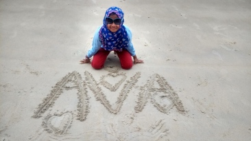 Sending love from Belitung for Ava and Ayah